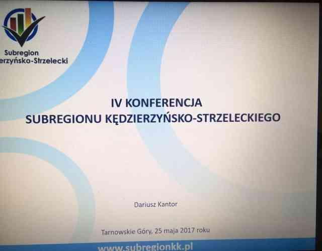 IV Konferencja Subregionu Kędzierzyńsko-Strzeleckiego