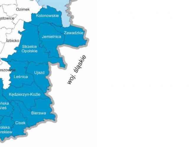 Subregion Kędzierzyńsko-Strzelecki powiększa się